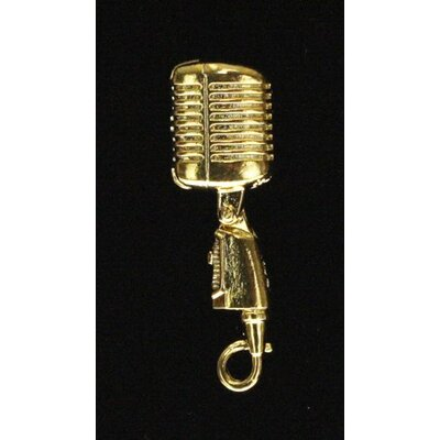 Harmony Jewelry Shure 55SH Microphone Pin in Gold