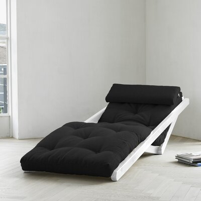 Fresh Futon Fresh Futon Figo with White Frame in Black