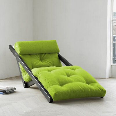 Fresh Futon Fresh Futon Figo with Wenge Frame in Lime
