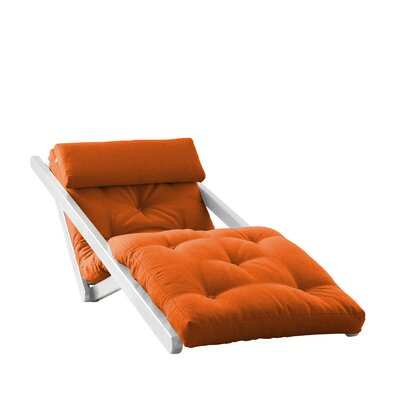 Fresh Futon Fresh Futon Figo with White Frame in Orange