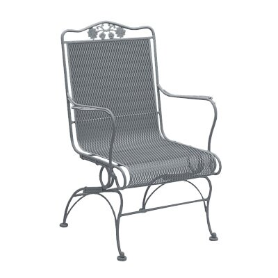 Briarwood Coil Spring High Back Chair