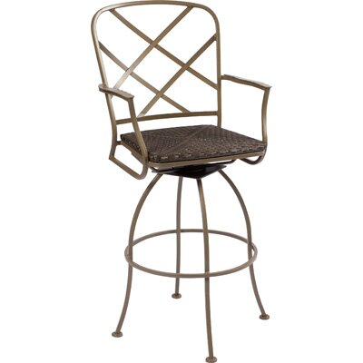 Woodard Aberdeen Swivel Bar Stool