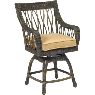 Woodard Serengeti Swivel Counter Stool