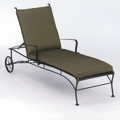 Woodard Bradford Chaise Lounge Back Cushion