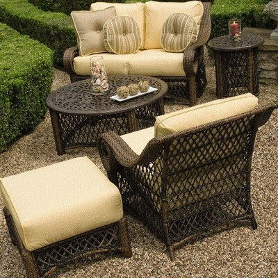Woodard Belmar Deep Seating Group with Cushions