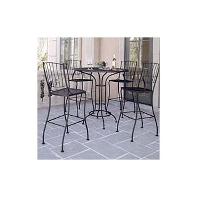Woodard Aurora Bar Height Dining Set