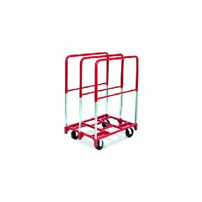 "Raymond Products Panel Mover 8"" Quiet Poly Casters, 2 Fixed and 2 Swivel, 3 Extra Tall Uprights"
