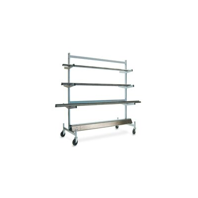 Raymond Products Pipe Rack with Brakes