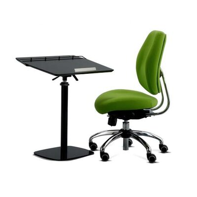 "Cotytech 24"" W Fully Adjustable Ergonomic Laptop Computer Desk"