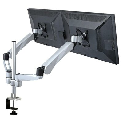 Cotytech Expandable Dual Monitor Desk Mount Spring Arm Quick Connect