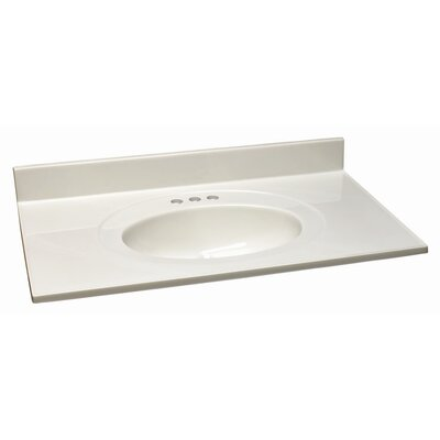 "Design House 25"" x 19"" Single Bowl Top"