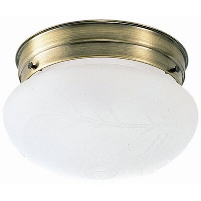 Design House 1 Light Flush Mount