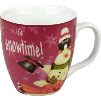 Konitz Holiday Frostys Snowtime Mug (Set of 4)