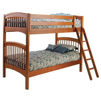 Bolton Furniture Windsor Twin over Twin Bunk Bed with Storage