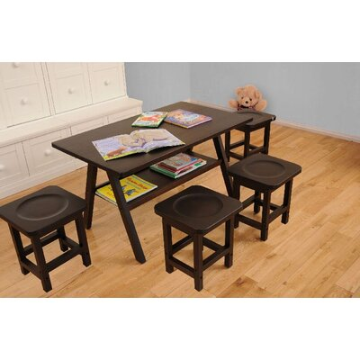 KidzPad Drew Playtime Kids' Table and Stool Set