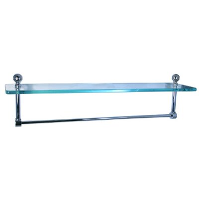 "Allied Brass Universal 16"" Single Shelf w/ Towel Bar"