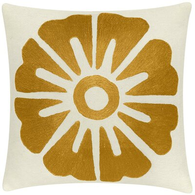 Judy Ross Big Rosette Pillow
