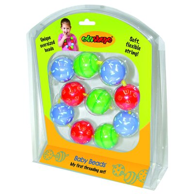 edushape Baby Toy Beads