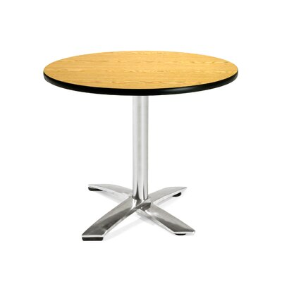 "OFM Multi-use 29.5"" x 36"" Round Folding Table"