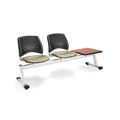 OFM Stars and Moon Three Chair Beam Seating with Table