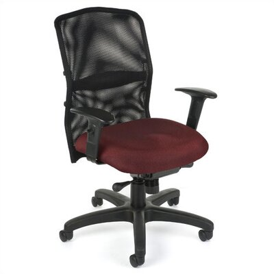 OFM Airflo High-Back Mesh Confrence Chair with Arms