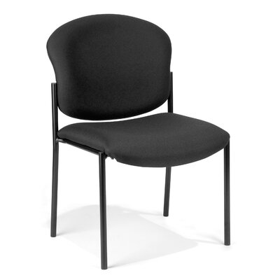 OFM Fabric Upholstered Armless Stacking Chair