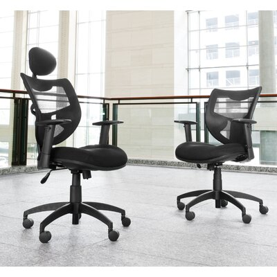 OFM Mesh Back Contemporary Executive Chair with Headrest