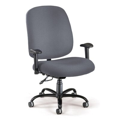 OFM Mid-Back Big and Tall Office Chair with Arms