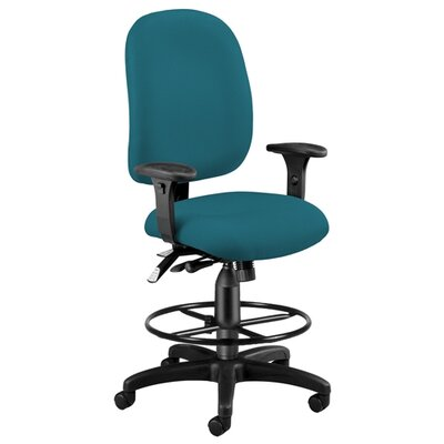 OFM Ergonomic Executive Chair with Drafting Kit