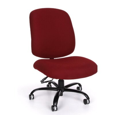 OFM Big and Tall Mid-Back Confrence Chair with Arms