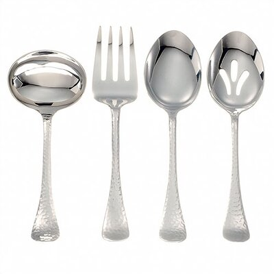 Ginkgo Stainless Steel Lafayette 4 Piece Hostess Set