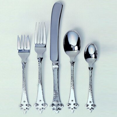 Ginkgo Crusader 5 Piece Flatware Set