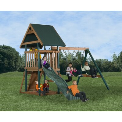 Backyard Play Systems Mongoose Manor Playset