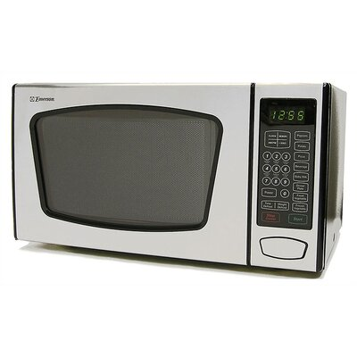 Touch Control 900 Watt Microwave Oven in Stainless Steel