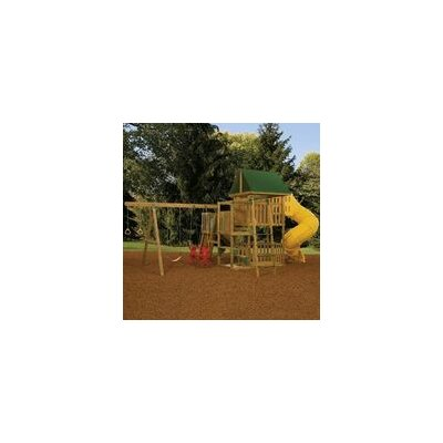 "Playstar Inc. 132"" x 180"" Great Escape Swing Set"