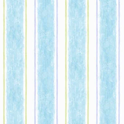 York Wallcoverings Candice Olson Kids Cabana Stripe