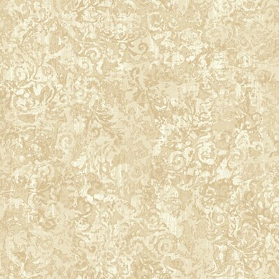 French Dressing Layered Scroll Wallpaper