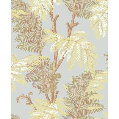 York Wallcoverings Tommy Bahama Archival Palm Tree Unpasted Wallpaper