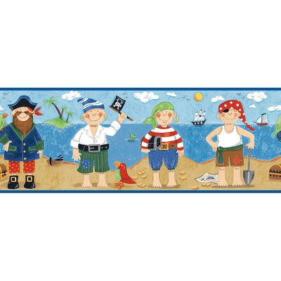 York Wallcoverings Peek-A-Boo Pirates Border