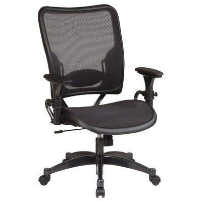 Office Star Products Air Grid Back Deluxe Managerial Chair