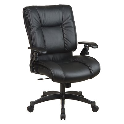 Office Star Products Air Grid Back Deluxe Conference Chair with Cantilever Arms