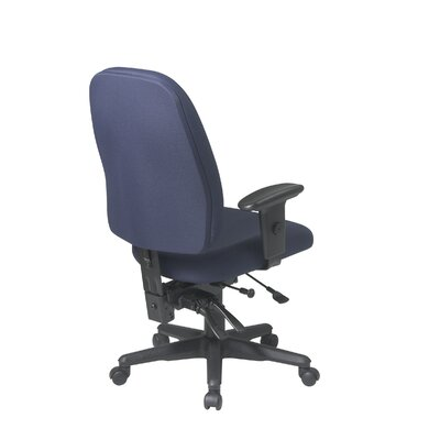 Office Star Products Mid-Back Ergonomic Office Chair with Arms