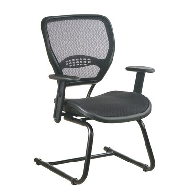 Office Star Products SPACE Air Grid Back Reception Chair