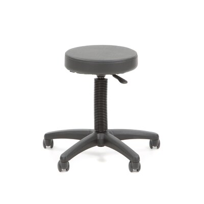 Office Star Products Backless Drafting Chair with Nylon Base