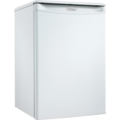 Designer 2.5 Cubic Foot Compact All Refrigerator in White
