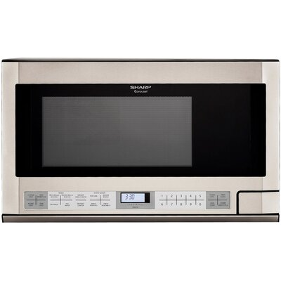 1100W Over the Counter Microwave Oven in Stainless Steel