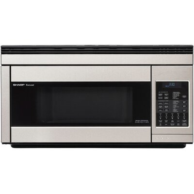850W Over the Range Convection Microwave Oven in Stainless Steel