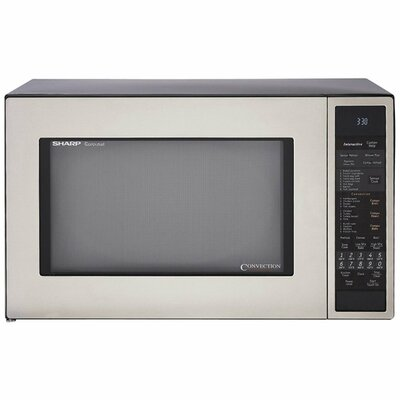 Sharp 1.5 Cu. Ft. 900W Countertop Convection Microwave & Reviews ...