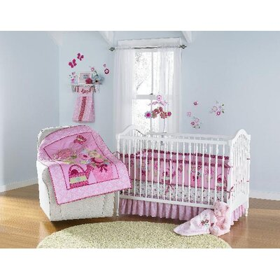 Triboro Just Born 4 Pieces Crib Bedding Set