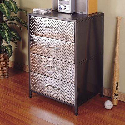 Powell Furniture Monster 4-Door Chest